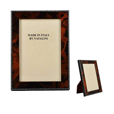 NCNO46 - 4X6 Italian Walnut Wood Frame