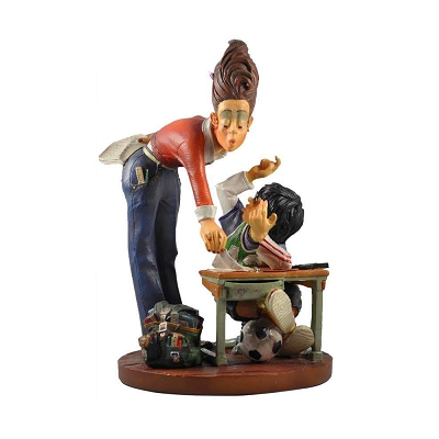PRO02 - Teacher and Student Figurine