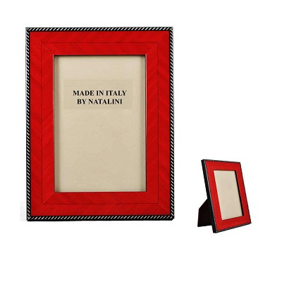 "NCRS46 - 4"" x 6"" Italian Arrow Red Wood Frame"